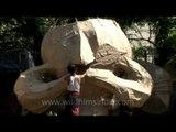 Ravan effigies for sale in New delhi for Dussehra