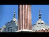 Jama Masjid with Muslim devotees during Eid al-Zuha, Delhi