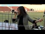 """Simply the best"" karoke cover by Roslyn Hmar at Dr. Ambedkar stadium"