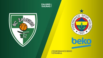 EuroLeague 2018-19 Highlights Playoffs Game 4 video: Zalgiris 82-99 Fenerbahce