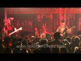 The very best of English Rock Band - Xerath in India at the Maram Fest 2012