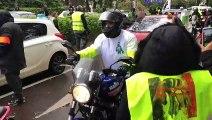 Besançon : les motards en colère rejoignent le mouvement des gilets jaunes devant le parc Michaud