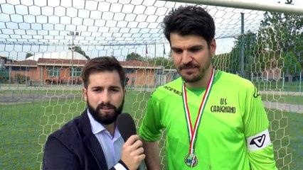 Interviste post partita Carignano - Del Duca Ribelle 0-1 (Finale Coppa Italia Promozione)