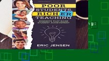 [BEST SELLING]  Poor Students, Richer Teaching: Mindsets That Raise Student Achievement (the
