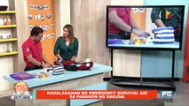 ON THE SPOT: Kahalagahan ng emergency survival aid sa panahon ng sakuna