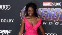 "Danai Gurira ""Avengers Endgame"" World Premiere Purple Carpet"