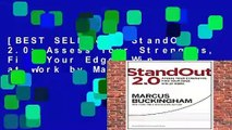 [BEST SELLING]  StandOut 2.0: Assess Your Strengths, Find Your Edge, Win at Work by Marcus