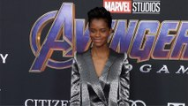 "Letitia Wright ""Avengers: Endgame"" World Premiere Purple Carpet"