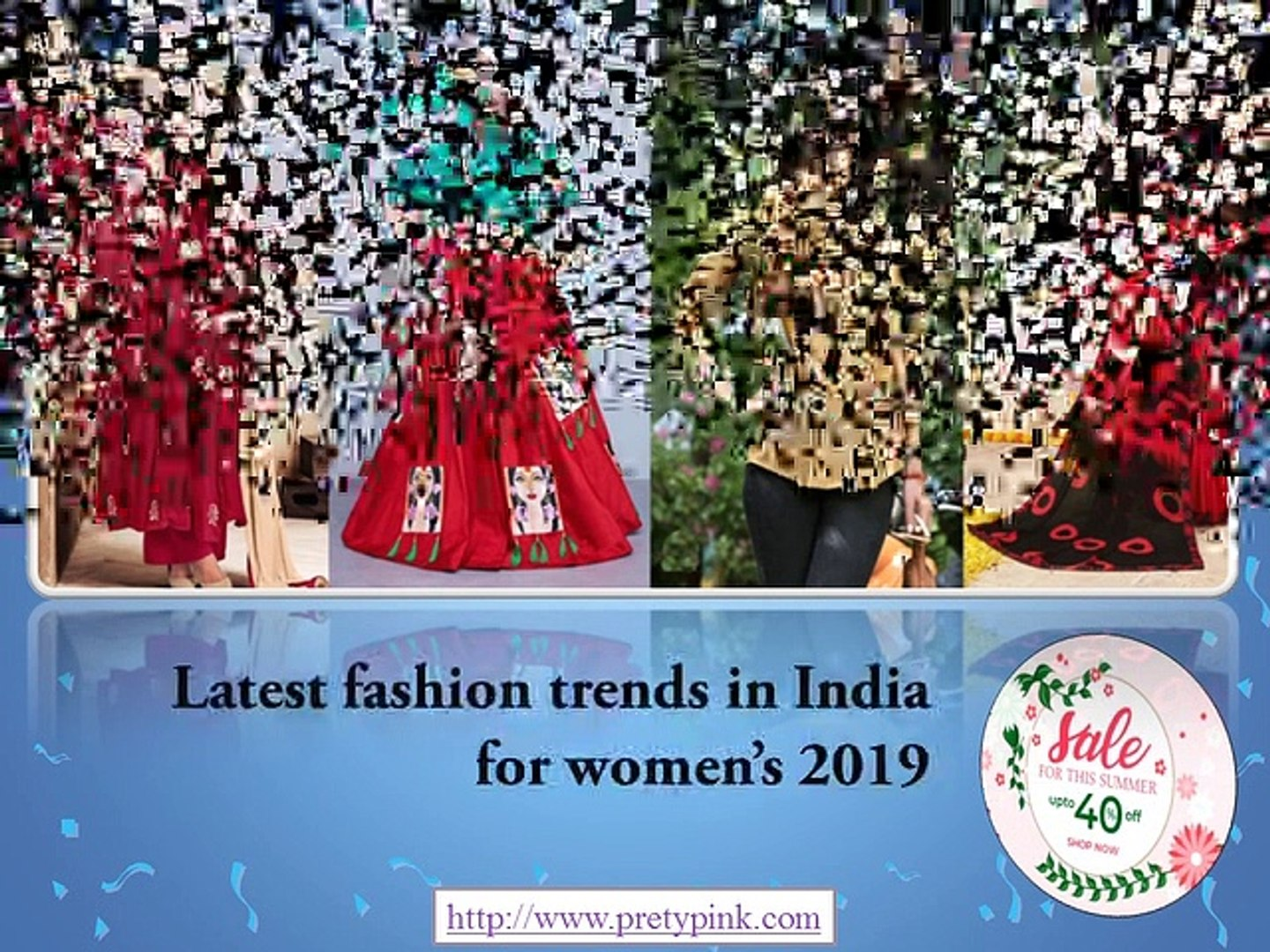 Latest fashion trends in India for women's 2019