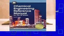 Review  Chemical Engineering Reference Manual for the PE Exam - Michael R. Lindeburg