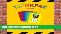 Full E-book  Thinkpak: A Brainstorming Card Deck  Best Sellers Rank : #4