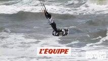 les highlights de la 1re étape de la Coupe du monde de freestyle à Leucate - Adrénaline - Kitesurf