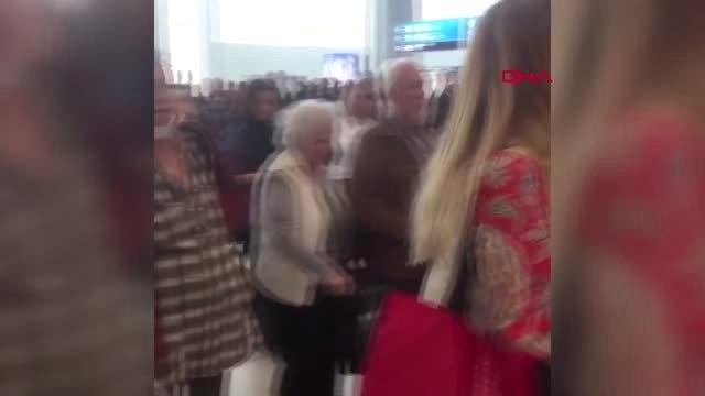 İstanbul- İstanbul Havalimanı'nda Rötar Kavgası