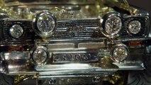 VÍDEO: Una maqueta de Ford Escort clásico hecha de oro, plata y diamantes, a subasta con fines solidarios