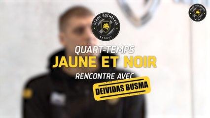 Quart-temps Jaune et Noir - Deividas Busma