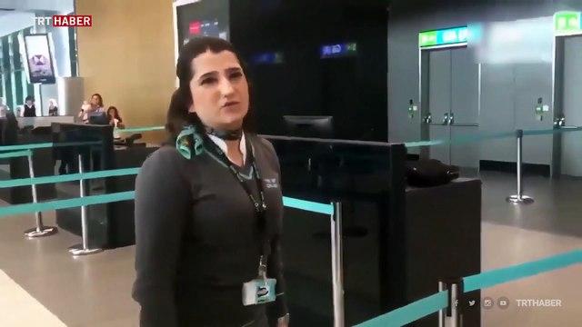 İstanbul Havalimanı'nda rötar kavgası