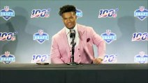 Kyler Murray says it was a 'surreal moment' after becoming number one pick in NFL draft