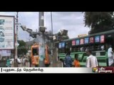 Periyakulam people request to replace damaged street lights