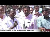 Cauvery protests: TN lorry drivers protest demanding compensation