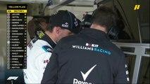 سحب سيارة راسل وسط ذهول كافة المشاركين في سباق فورمولا 1 أذربيجان