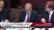 Gestion des risques climatiques : audition de 4 syndicats agricoles - Les matins du Sénat (26/04/2019)