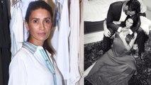 Arjun Rampal's ex-wife Mehr Jesia reacts on Gabriella Demetriades's pregnancy | FilmiBeat