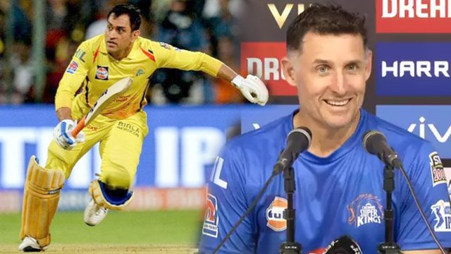 IPL 2019 : MS Dhoni Doesn't Want To Miss Games Says Chennai Super Kings Batting Coach Mike Hussey