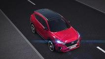 Hyundai Tucson 48V Mild Hybrid Animation