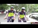 12-day cycle expedition by students to create awareness about mental health