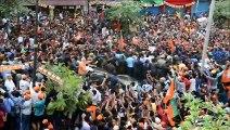 Massive crowd greets Modi in holy city of Varanasi
