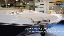 2019 NauticStar 223DC Sport Deck Boat For Sale at MarineMax Lake Norman