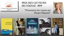 Présentation des romans pour le Prix des lecteurs des Littératures Européennes de COGNAC 2019