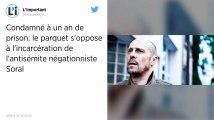 Condamnation du négationniste Alain Soral: le parquet de Paris fait appel du mandat d'arrêt