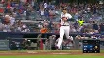 Ronald Acuña Repartiendo palo en grandes ligas ( MLB )