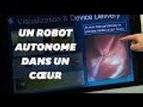 Un robot autonome utilisé pour des opérations du cœur