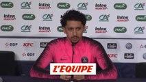 Marquinhos «La saison serait ratée si on perd en finale» - Foot - Coupe - PSG