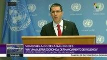 Venezuela denuncia daños generados por el bloqueo impuesto por EEUU