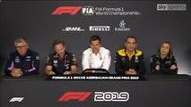 F1 2019 Azerbaijan GP - Friday (Team Principals) Press Conference