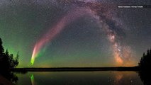 Scientists Figure Out How That Mysterious Skyglow 'STEVE' Forms