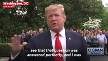 President Trump Defends His Charlottesville Response