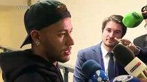 Neymar suspendu 3 matches en Ligue des champions (UEFA)