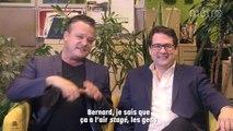 Discussions de salon avec Bernard Drainville