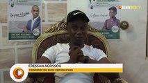 Bénin-législatives 2019: Cressan Agossou appelle au plébiscite du BR dans la 6ème C.E