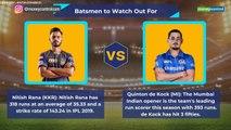 IPL 2019 KKR vs MI Preview
