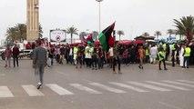 """Libya'da Hafter Saldırılarına """"Sarı Yelekli"""" Protesto - Trablus"""
