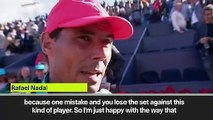 (Subtitled) Nadal hails importance of another semi-final achievement