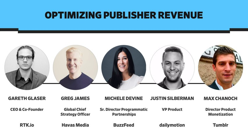 Optimizing Publisher Revenue Panel