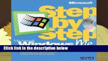 About For Books  Windows Millennium Edition Step by Step (EU-Step by Step) Complete