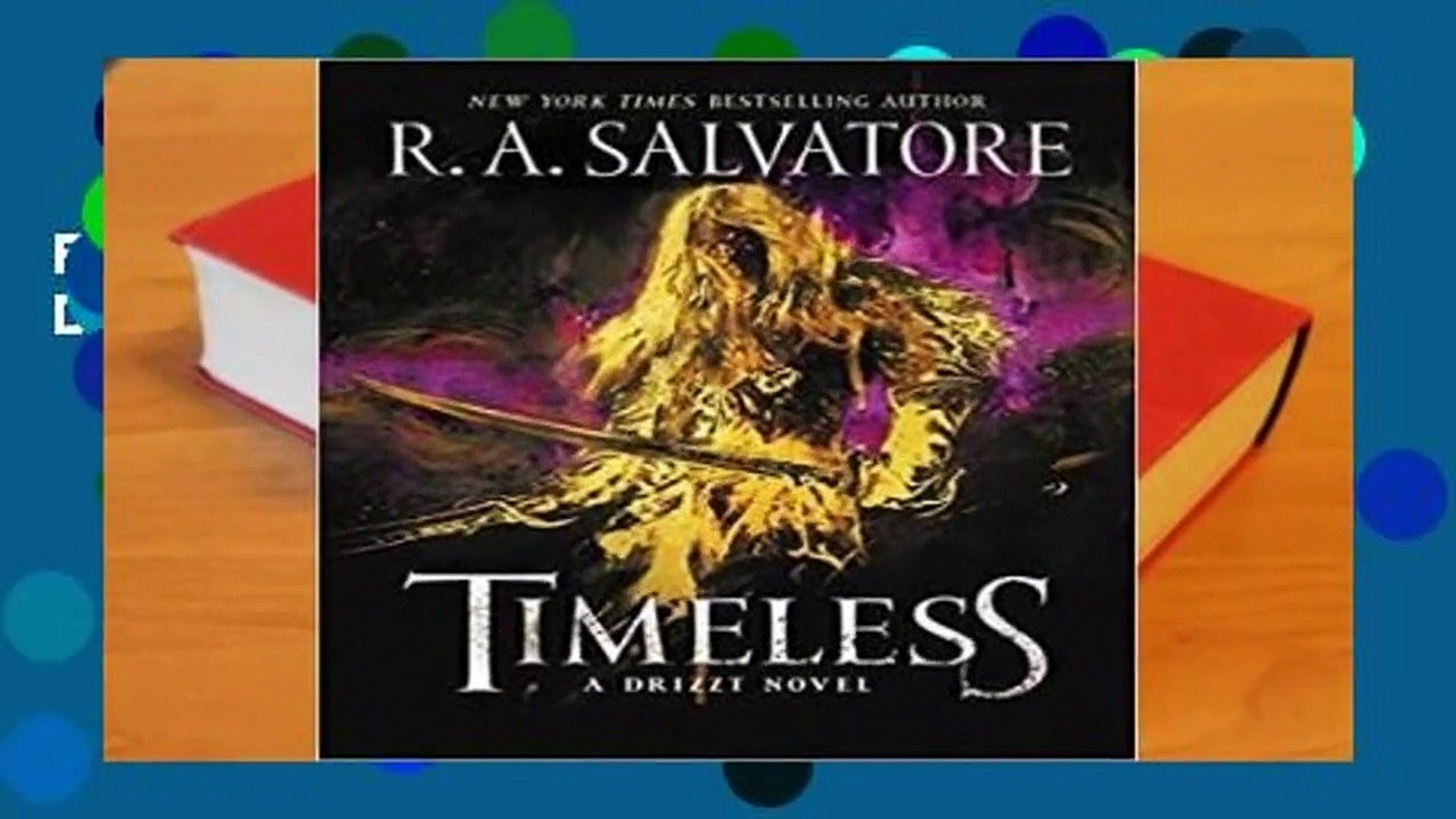 Best product Timeless (The Legend of Drizzt, #31) - R A  Salvatore