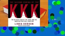 Review  The Second Coming of the KKK: The Ku Klux Klan of the 1920s and the American Political
